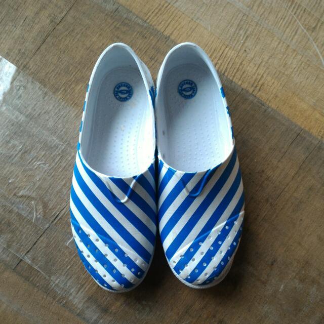 防水 懶人鞋