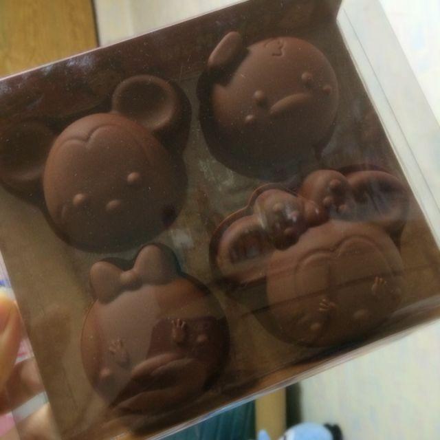 日本 迪士尼商店 tsum tsum 米奇 米妮 唐老鴨 黛絲 巧克力 甜點 手做 模型