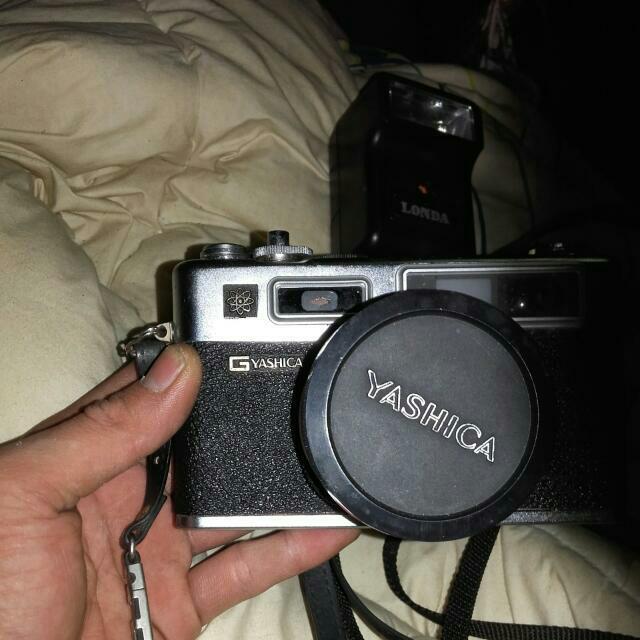 復古底片相機 G-Yashica Electro 35 賣1千