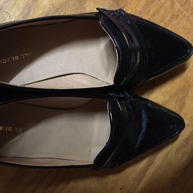 All Black 平底黑鞋