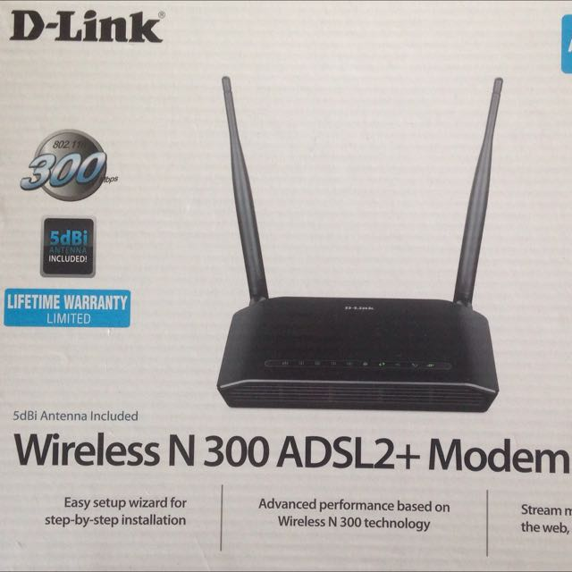 Dlink n300 Modem Wifi New In Box