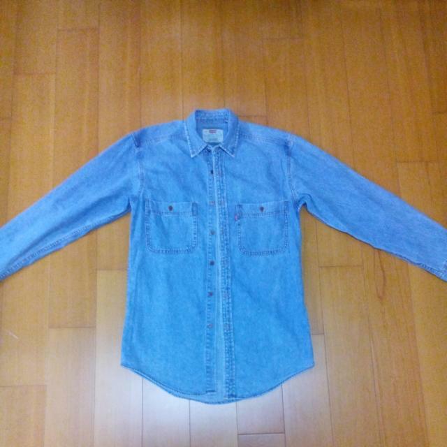 LEVIS 牛仔長版襯衫外套 古著(免運)售至2月底