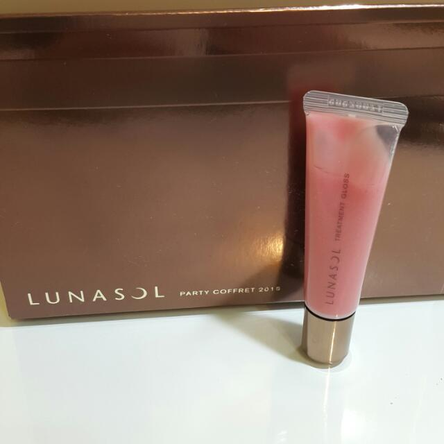 (全新)LUNASOL 水漾護唇蜜  EX02 Shiny Warm Pink  10g