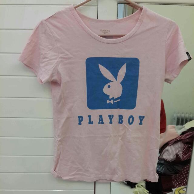 play boy 短袖上衣
