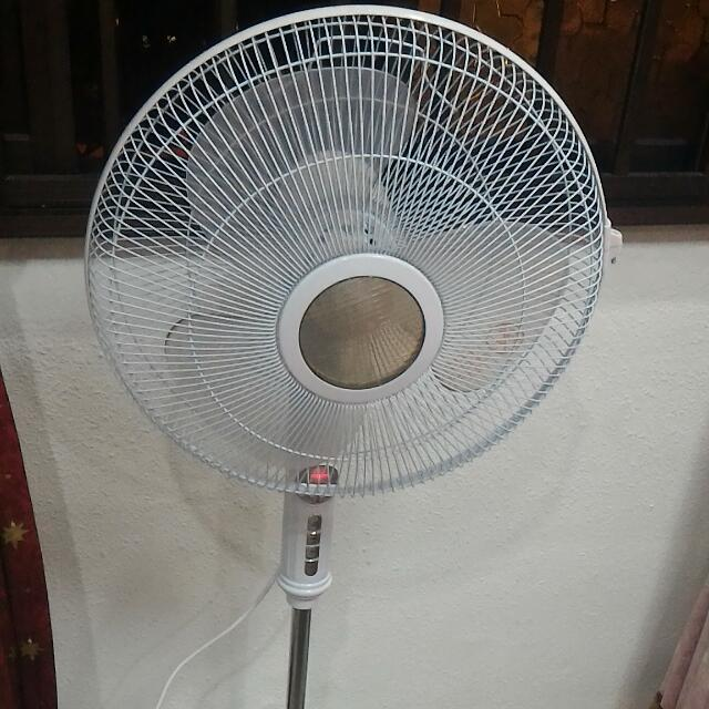 Revised Pricing Remote Stand Fan - Morries