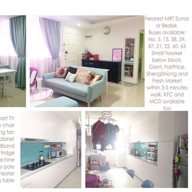 Room For Rent Bedok - No Agent