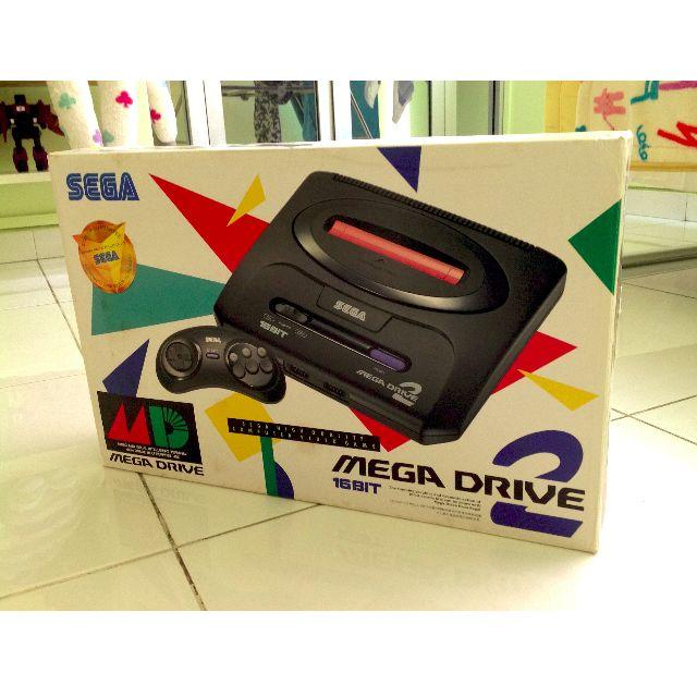 Sega Mega Drive 2 Box Set Used Retrogame Retrogaming