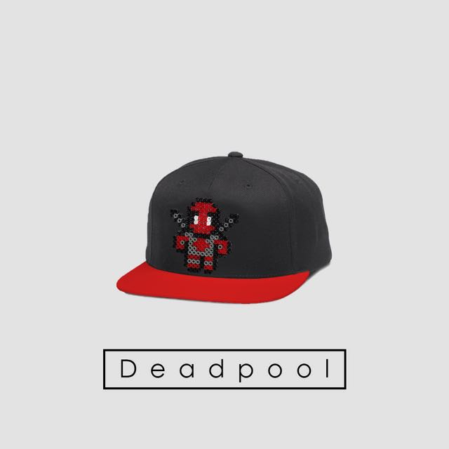 Snapback MARVEL superhero  DEADPOOL  93054a12f208