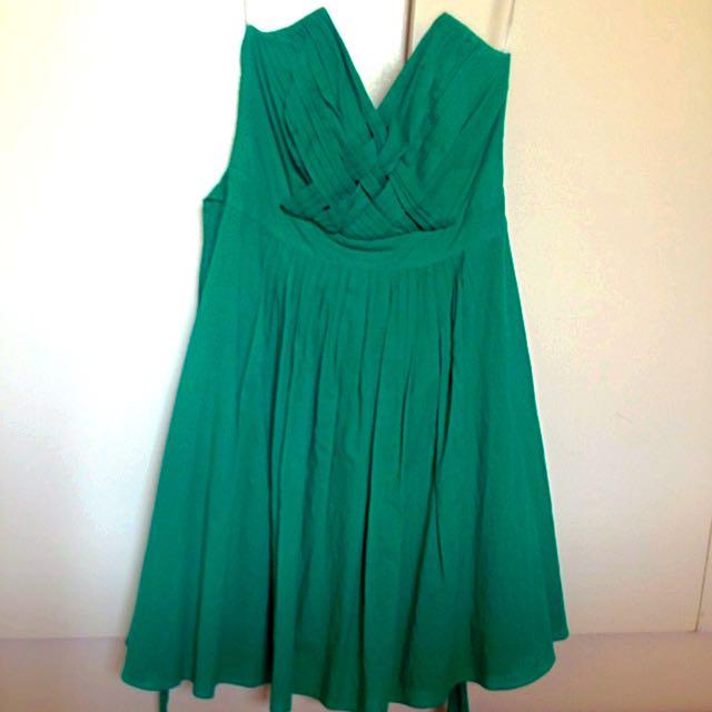 Strapless Vintage Dress