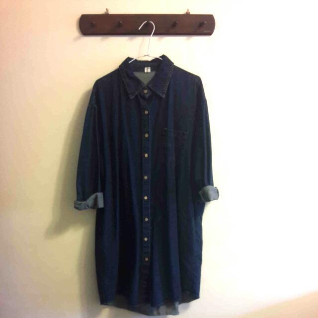 [全新]TrudaModa襯衫外套(深藍)