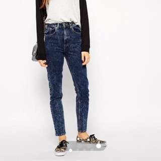 SELLING @ LOSS: ASOS Farleigh Mom Jeans