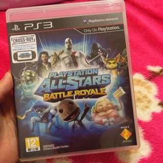 PS3 PlayStation All-Stars 大亂鬥
