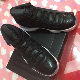 air Jordan 11代。大魔王。全新10號!!