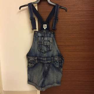 Denim Dungarees (shorts) - Brand New #1212sale