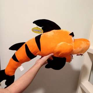 Orange Shark Plush Toy / Doll 公仔