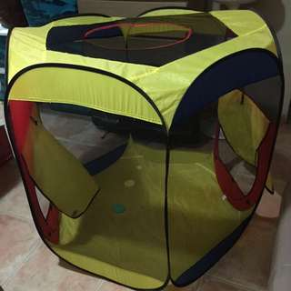 Preloved Very Large Play tent (Open TOP)