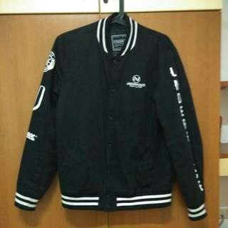 Under Peace 14 A/w 👆 Varsity Jacket❨黑M❩1560含運👆