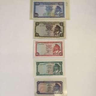 Brunei First Series Notes (SOAS)