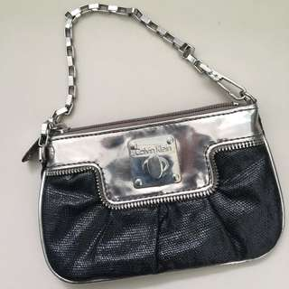 Authentic Calvin Klein Mini Clutch / Handbag / Bag