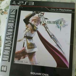 Ps3 Game Final Fantasy XIII 中英合版 少有