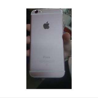 iPhone 6 金色 包膜 玫瑰金 64G