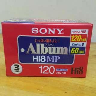 便宜賣全新 Sony Hi8 MP
