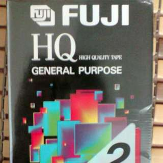 全新《FUJIEI》T-120 HQ 2片裝 3倍時間VHS高畫質空白錄影帶