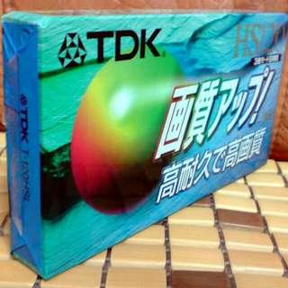 全新《TDK》HS60 VHS高畫質空白錄影帶
