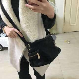 日本製  高質感側背包