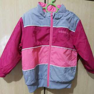 Adidas Winter Jacket Back To Back Fits 2-5yrs Old