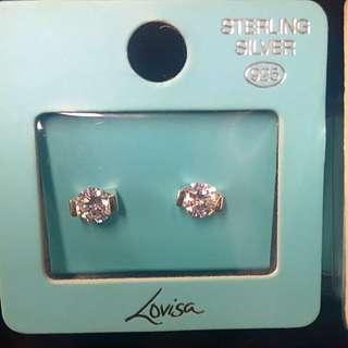 Crystal Earrings lovisa