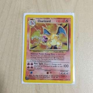 Pokemon Charizard Card