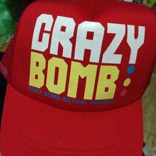 二手🙄GRAZY BOMB帽子