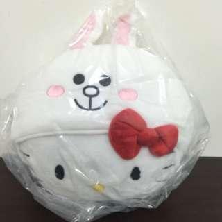 7-11 Hello Kitty X Line 熊大 限量 絨毛玩偶 抱枕