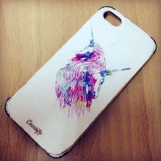 🐴每個女孩心中都有一隻小獨角獸 Casetify手機殼iPhone5/5s 心痛大清倉