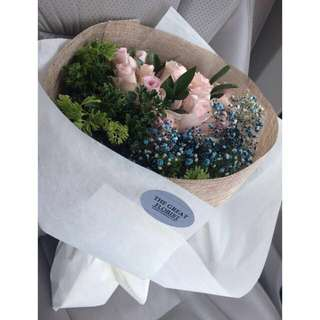 Imported India Roses Bouquet