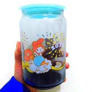 雙子星玻璃儲存罐