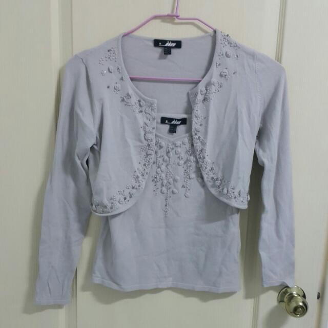 2件式針織衫