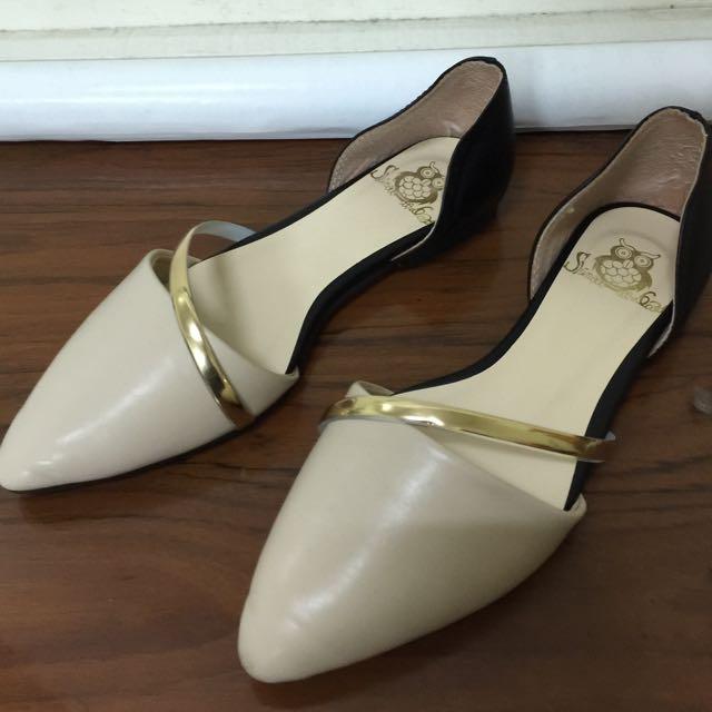 氣質平底女鞋