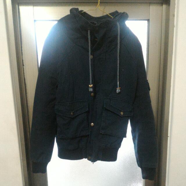 百貨公司專櫃軍裝外套