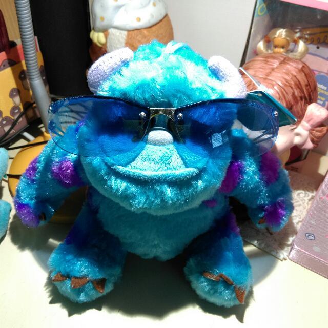 藍色太陽眼鏡