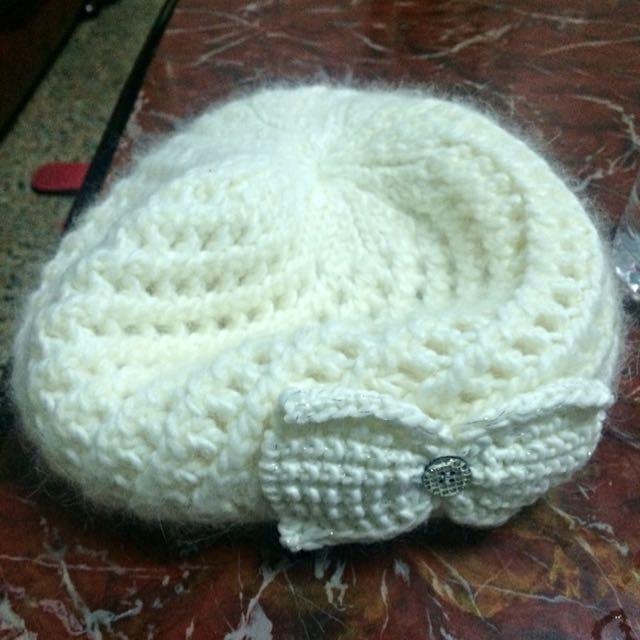 超保暖針織毛帽