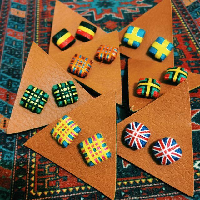 🇹🇭現貨 手工耳環🇹🇭泰國設計小店帶回 每款各一