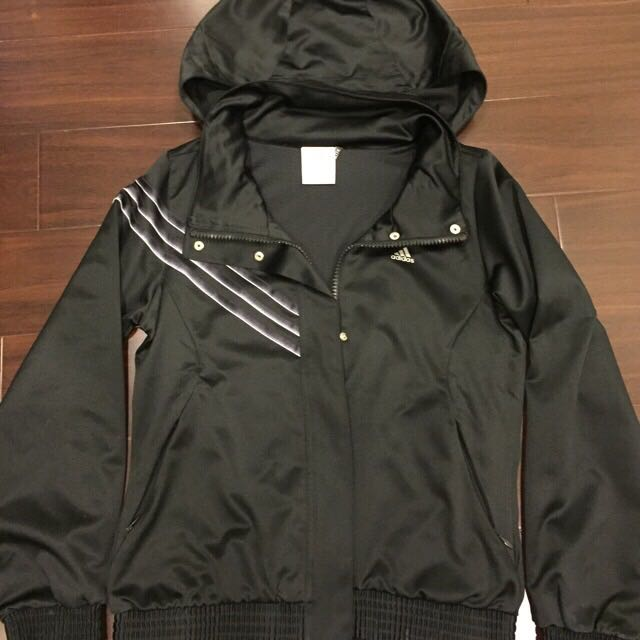 adidas黑色外套(免運)