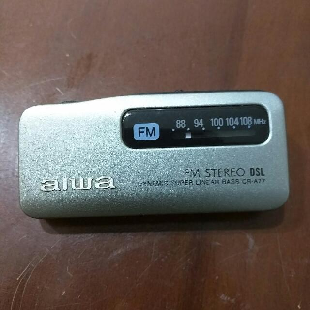 AIWA Radio Receiver