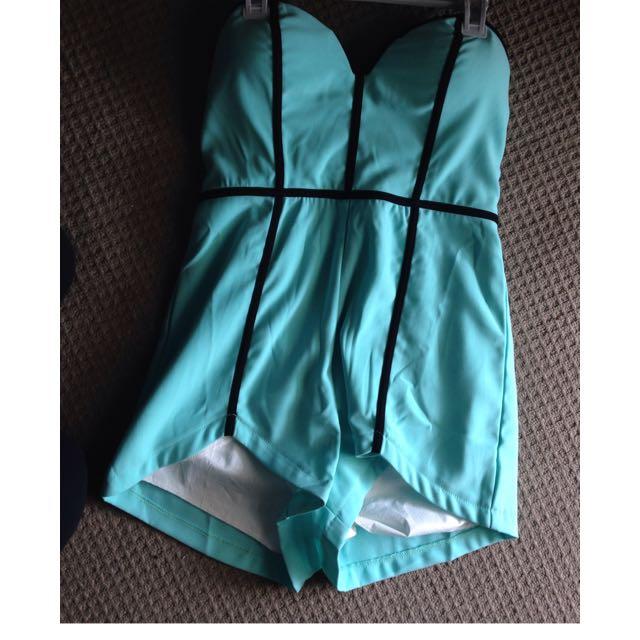 Aqua Jumpsuit