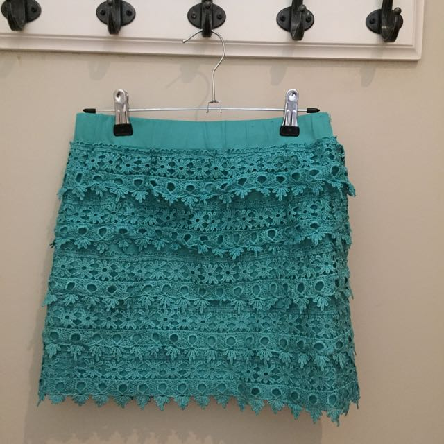 Aqua Stretch Skirt