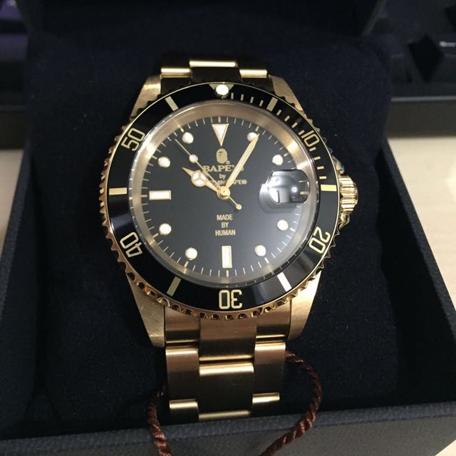 Bapex Bape Watch Rolex