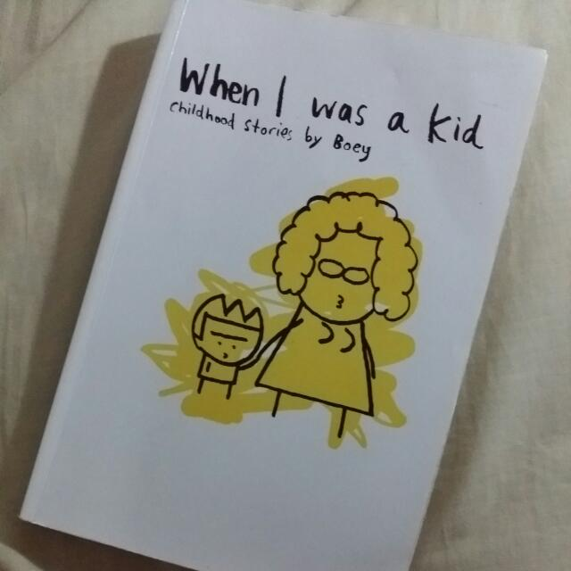Boey - When I Was a Kid 1