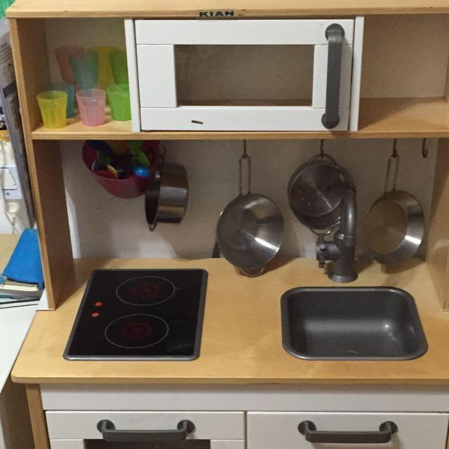 ikea kitchen set toy, toys & games on carousell